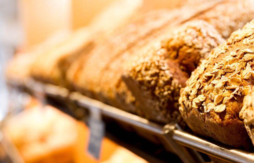 Brote in der Auslage